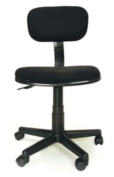 Innovex Student low back upholstered fabric armless height adjustable swiveling computer office task chair with padded back, seat and durable caster wheels for easy mobility. Cheap Computer Chairs, Cheap Office Chairs, Home Office Chairs, Cheap Desk, Office Furniture, Bloom High Chair, Student Chair, Wooden Folding Chairs, Rocking Chair Nursery