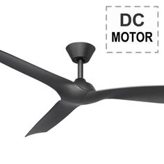 The Trinidad II modern ceiling fan has an energy saving DC motor with 3 plastic blades. It has summer/winter settings and includes 6 speed remote. Dc Ceiling Fan, Ceiling Fan With Remote, Modern Ceiling, Summer Winter, Save Energy, Trinidad, Plastic, Plastic Art