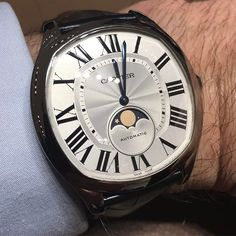 a00ed84d4cd1 #wristshotweekend: @cartier's new Drive de Cartier Moon Phases - what do  you think