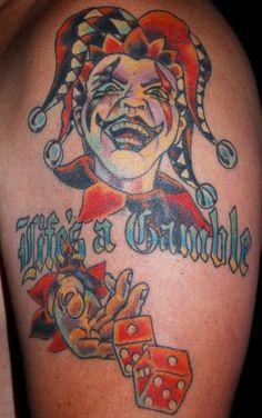 Gambling Tattoos Design  Free Download Tattoo 25020