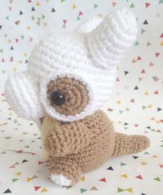 Pokemon Cubone Kawaii Amigurumi Crochet by OutlawHeartCreations