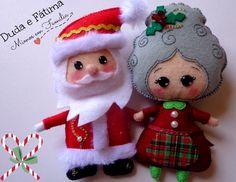 Papai e Mamãe Noel - Duda e Fátima (Mimos em Família)