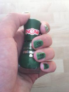 Smiley nagels!
