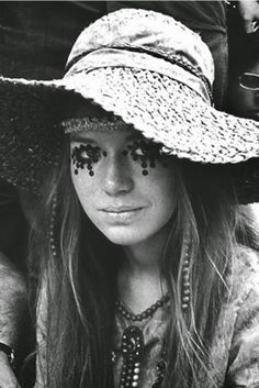 vintage everyday: Girls of Woodstock – The Best Beauty and Style Moments from 1969