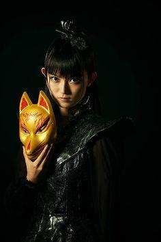 Mask Japanese, Japanese Girl Band, Sakura Gakuin, Japon Tokyo, Kitsune Mask, Moa Kikuchi, Metal Albums, Girl Bands, Metal Bands