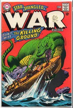 Star Spangled War Stories #134 Cover art by Russ Heath