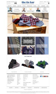 The Tie Bar Provides Handmade Silk Neckties, Discount Neckties, Mens Silk Neck Ties, Cufflinks, Affordable Ties, and Bowties.