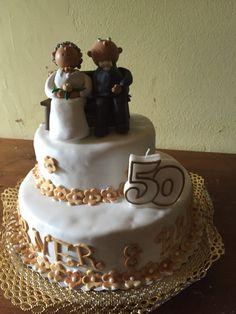 Torte zur goldenen Hochzeit                                                                                                                                                                                 Mehr