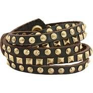 funky leather bracelet for women. Great bracelets and gift ideas for under $100