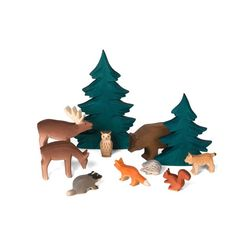 engelberger wooden forest animals | Nova Natural Toys & Crafts