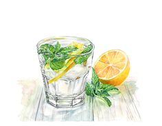 Watercolor illustrations by Kateryna Savchenko. Available for purchase.