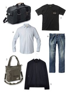 The Ultimate Carry-On Guide for Guys by happymundane- Condé Nast Traveler