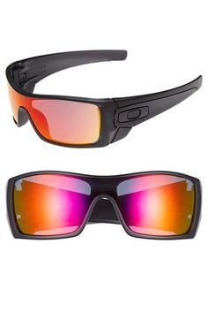oakley batwolf mask sunglasses  mens oakley batwolf sunglasses black/ ruby