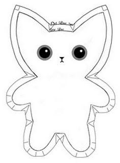 Paper and Twine Crafty Design, LLC: Stuffed Kitty Tutorial. Super duper cute!!!