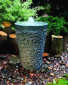 stone garden water fountains small stone fountains explore and share images