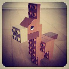 Finn's donkey (Taken with instagram) Lego Duplo