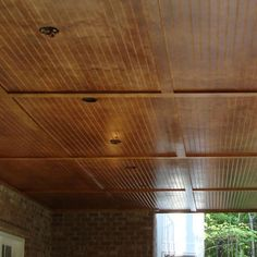 Trex RainEscape Drainage System - Finished Under-Deck View Under Deck Roofing, Under Deck Drainage System, Deck With Pergola, Pergola Ideas, Patio Ideas, Deck Balusters, Aluminum Decking, Under Decks, Decks And Porches