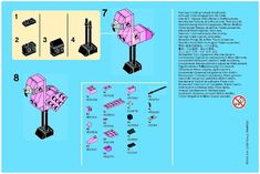 Promotional - Flamingo - Monthly Minibuild Aug 2013 [Lego 40068]