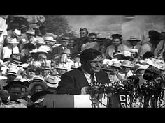 Wendell Willkie - sound familiar?  It should -- Trump before Trump   Wendell Willkie arrives in his home town and formally accepts the Republican Presidential Nomination, 1940, criticizing President Roosevelt for preparing the Nation for defense against the Axis Powers - HD Stock Footage - YouTube