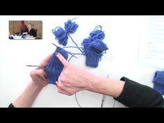 2 Socks at-a-time on 2 Circulars, Parts - Magic Loop Method Knitting Help, Knitting Videos, Knitting Charts, Knitting For Beginners, Knitting Stitches, Knitting Socks, Knitting Patterns Free, Knitting Projects, Baby Knitting