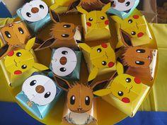 Lembrança Especial - Pokemon boxes party