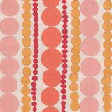 Candy Stripe, orange and coral, by Galbraith and Paul.  Handblocked cuteness!