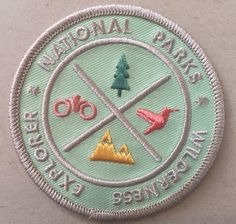 National Parks Wilderness Explorer's  Patch