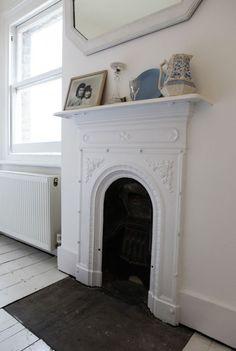 Fireplace In the Bedroom - Fireplace In the Bedroom, Cozy Farmhouse Master Bedroom Victorian Bedroom, Edwardian House, Victorian Fireplace, Victorian Terrace, Victorian Homes, White Fireplace, Bedroom Fireplace, Fireplace Design, Fireplace Ideas