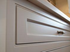 Modern cabinets, cerused oak island  All*Star Woodworking