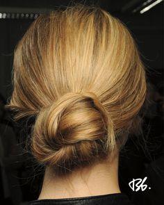 Spring/Summer Fashion Week. Hair by Bb. Stylist Neil Moodie. #fashionweek #fashion #hair #bumbleandbumble #style #bun