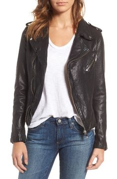 Free shipping and returns on LaMarque Washed Lambskin Leather Moto Jacket at Nordstrom.com. Designed to mold to your body with wear, a timeless moto jacket is crafted from washed lambskin leather for an extremely soft, supple feel.