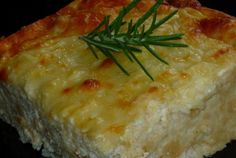Retete Culinare - Sufleu de branzeturi