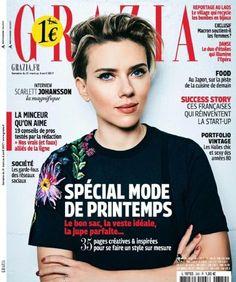 Scarlett Johansson - Grazia Magazine Cover [France] (6 April 2017)