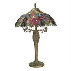 Antique Tiffany Style Lamps
