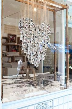 Opticians Store Design #heart #visualmerchandising #retail #storedisplay #retaildetails