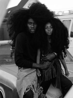 Meet Instagram's Father of the Year, LA's wavy-maned model and musician, Benny Harlem.