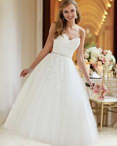 24 Gorgeous Tea Length Wedding Dresses ❤ tea length wedding dresses sweetheart strapless sexy neckline lace country essensedesigns #weddingforward #wedding #bride