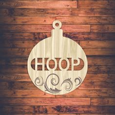 """Product laser cut word """"hoop"""" templates, pattern, online design store free vector downloads everyday. @ shop-msl.com Online Templates, Templates Free, Vector Free Download, Free Downloads, Laser Cut Patterns, Afrikaans, Wooden Boxes, Laser Engraving, Laser Cutting"""