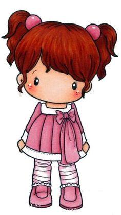 Resultado de imagen para muñecas  coletas dibujo
