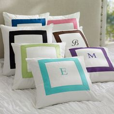 Suite Ribbon Pillow Cover | PBteen