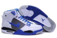 #jordans 2014 popular air jordan 4 blue and white