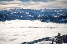 Above the #clouds.