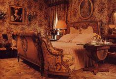 Marie-Hélène de Rothschild's bedroom. Lexington Avenue, New York.