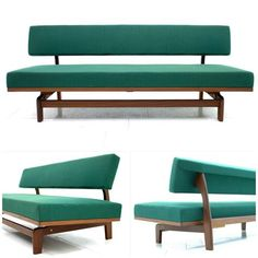 Hans Bellmann, Daybed/Sofa. Wilkhahn, 1964. Click on the image to see 5 mid-century sofas on which you will want to spend your entire weekend!