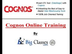 http://www.bigclasses.com/cognos-online-training.html BigClasses.com provides a full curriculum of onsite and online Cognos training solutions including Cognos Report Studio training, Cognos Framework Manager Training, Cognos TM1 training and more.