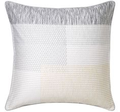 2 Royal Doulton European Pillowcase Attica Chalk 65 Cm X 65 Cm Brand-New In Pack