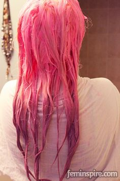Super simple pastel hair tutorial! How long can I wait to try this?