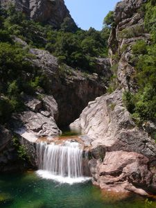Corse canyoning // Vacca -