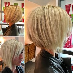 80 Bob Hairstyles To Give You All The Short Hair Inspiration - Hairstyles Trends Short Hair With Layers, Short Hair Cuts, Bob Hairstyles For Fine Hair, Cool Hairstyles, Medium Hair Styles, Short Hair Styles, Corte Y Color, Hair Color And Cut, Great Hair
