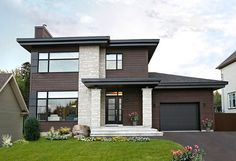 Stately Modern with Garage - 22322DR thumb - 07